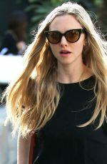 AMANDA SEYFRIED Out in Beverly Hills 02/09/2018
