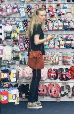AMANDA SEYFRIED Out Shopping in Beverly HIlls 02/15/2018