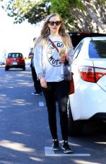 AMANDA SEYFRIED Shopping at Fred Segal in West Hollywood 02/16/2018