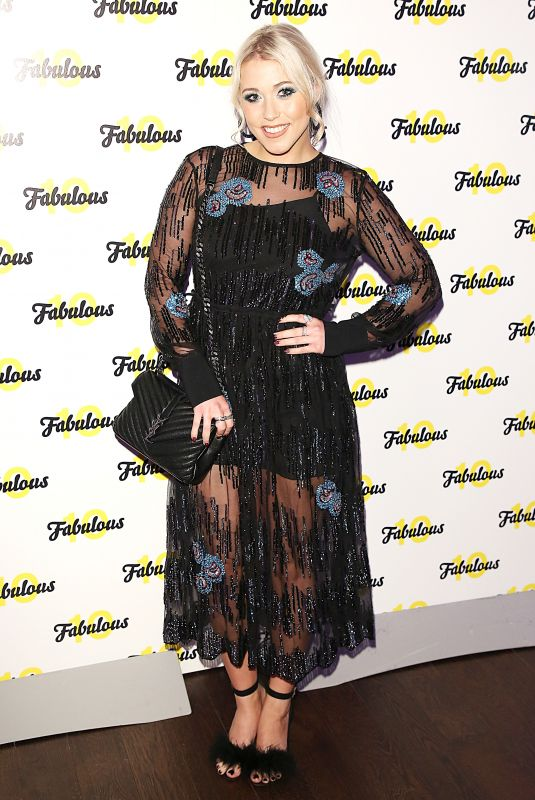 AMELIA LILY at Fabulous Magazine 10th Birthday Party in London 02/06/2018