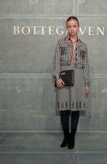 AMELIA WINDSOR at Bottega Veneta Show at New York Fashion Week 02/09/2018