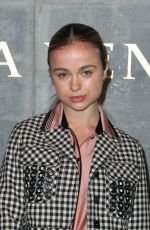 AMELIA WINDSOR at Bottega Veneta Show at New York Fashion Week 02/09/2018