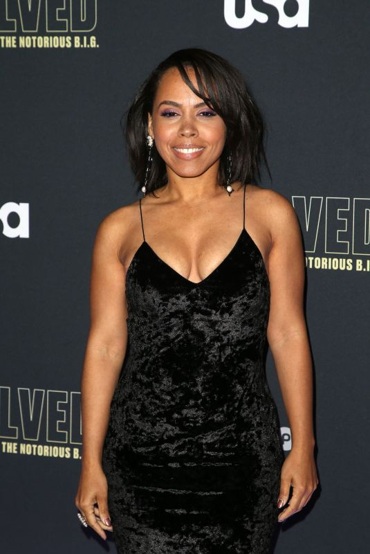 AMIRAH VANN at Unsolved the Murders of Tupac and the Notorious B.I.G. Premiere in Los Angeles 02/22/2018