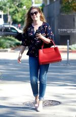 AMY ADAMS Out and About in West Hollywood 02/02/2018