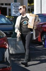 AMY ADAMS Out in West Hollywood 02/26/2018