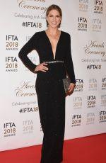 AMY HUBERMAN at IFTA Film & Drama Awards 2018 in Dublin 02/15/2018
