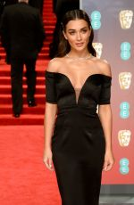 AMY JACKSON at BAFTA Film Awards 2018 in London 02/18/2018