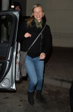 AMY SMART Out for Dinner at Craig