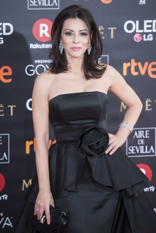 ANA ALVAREZ at 32nd Goya Awards in Madrid 02/03/2018