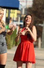 ANA BRAGA and ALICIA ARDEN Out in Studio City 01/22/2018