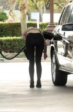 ANA BRAGA at a Gas Station in Calabasas 02/27/2018