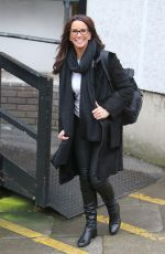 ANDREA MCLEAN Leaves ITV Studios in London 02/09/2018