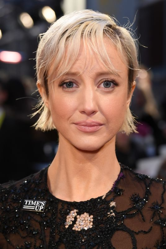 ANDREA RISEBOROUGH at BAFTA Film Awards 2018 in London 02/18/2018