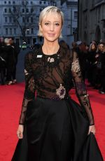 ANDREA RISEBOROUGH at BAFTA Film Awards 2018 in London 02/18/2018