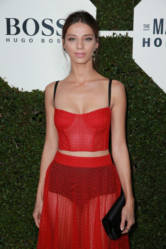 ANGELA SARAFYAN at Esquire Celebrates March Issue