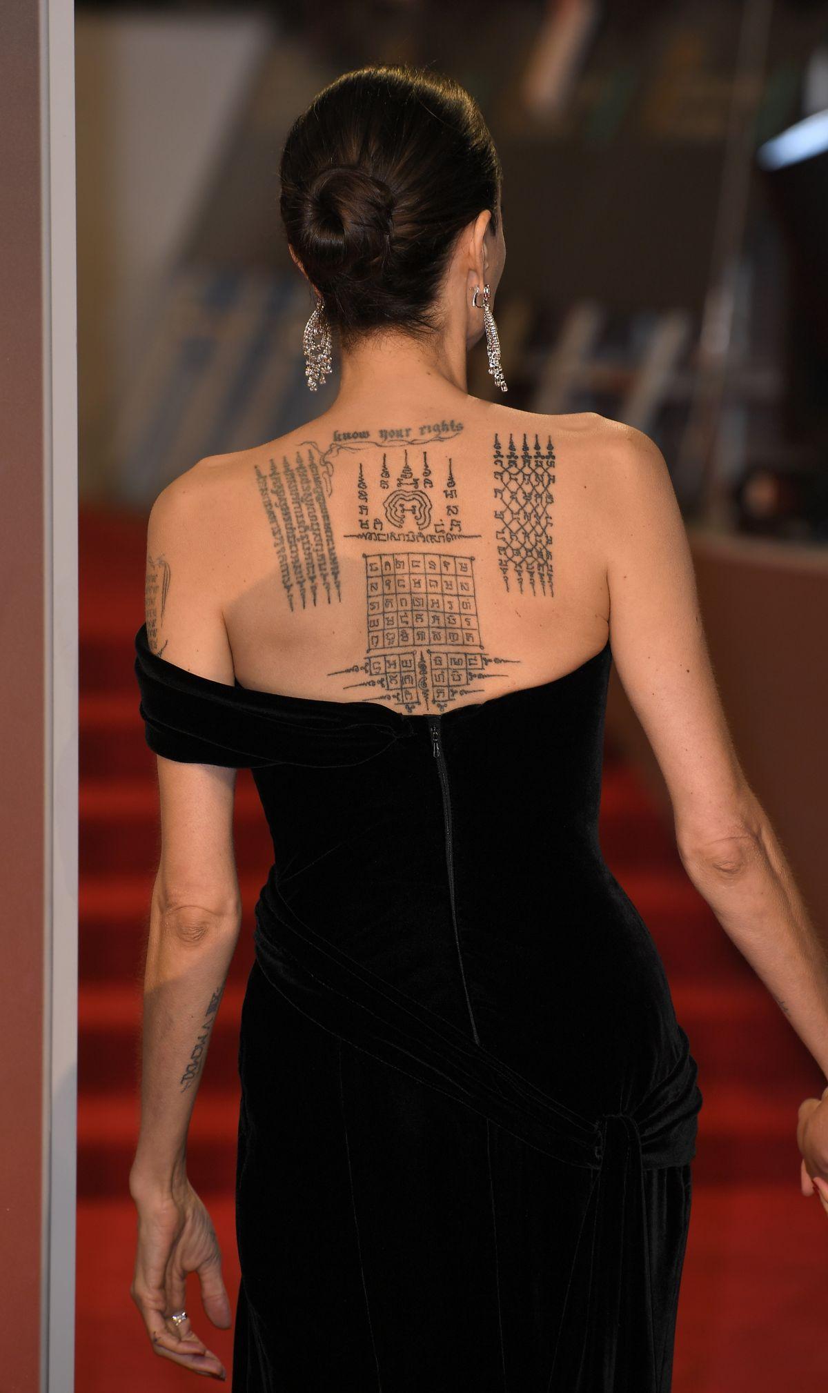 Angelina Jolie Bafta Film Awards London Demi Lovato