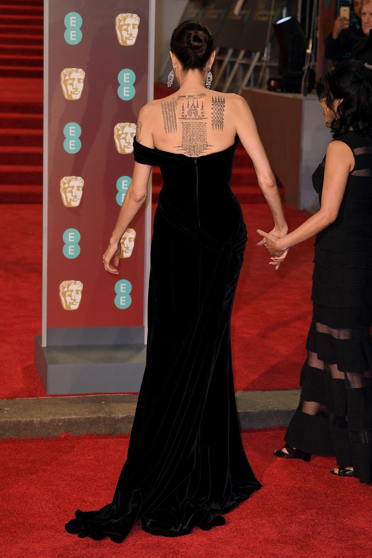 BAFTA 2018 : Les actrices en noir, Kate Middleton en vert
