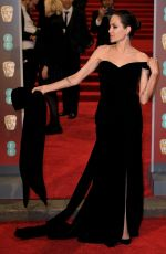 ANGELINA JOLIE at BAFTA Film Awards 2018 in London 02/18/2018
