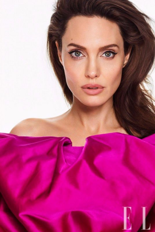 ANGELINA JOLIE in Elle Magazine, March 2018