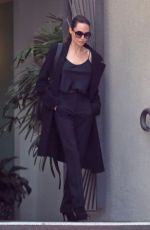 ANGELINA JOLIE Out and About in Los Angeles 02/13/2018