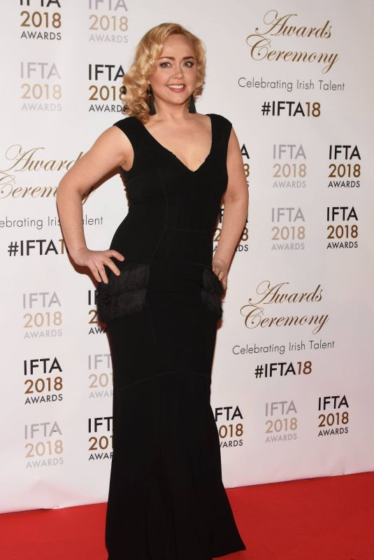 ANGELINE BALL at IFTA Film & Drama Awards 2018 in Dublin 02/15/2018