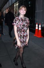 ANGOURIE RICE Arrives at Build Series in New York 02/21/2018