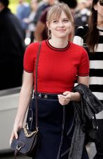 ANGOURIE RICE on the Set of Extra TV in Los Angeles 02/13/2018