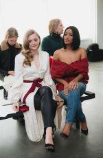 ANNA BARYSHNIKOV at Hellessy Show at New York Fashion Week 02/09/2018