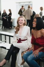 ANNA BARYSHNIKOV at Hellessy Show at New York Fashion Week 02/09/2018