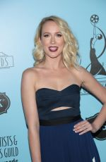 ANNA CAMP at 2018 Make-up Artists and Hair Stylists Guild Awards in Los Angeles 02/24/2018