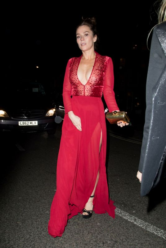 ANNA FRIEL Arrives at Warner Music Brits After-party in London 02/21/2018