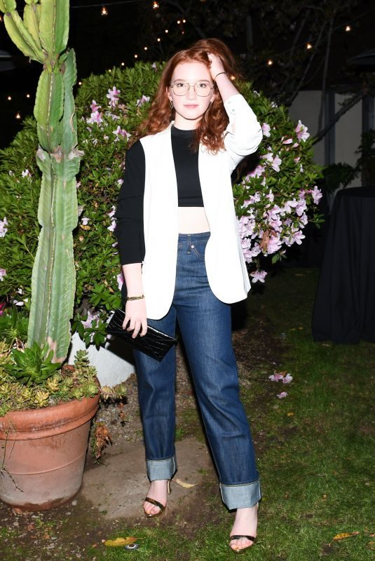 ANNALISE BASSO at Shopbop + Levi's Made & Crafted Exclusive Capsule Collection Launch in Los Angeles 02/22/2018