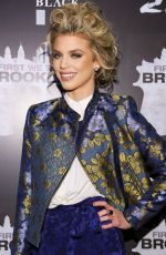 ANNALYNNE MCCORD at First We Take Brooklyn Premiere in New York 02/07/2018