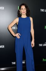 ANNIE PARISSE at The Looming Tower Premiere in New York 02/15/2018