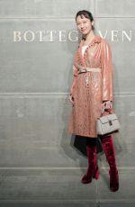 ANNY FAN at Bottega Veneta Show at New York Fashion Week 02/09/2018