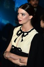 ANYA TAYLOR-JOY at Newport Beach Annual UK Honours in London 02/15/2018