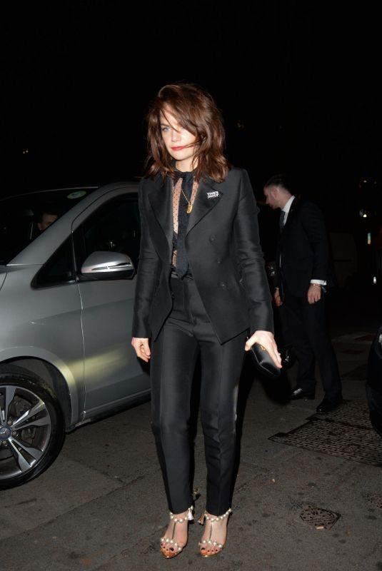 ANYA TAYLOR-JOY at Vogue x Tiffany & Co Bafta Afterparty in London 02/18/2018
