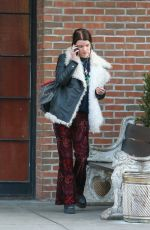 ANYA TAYLOR-JOY Out and About in New York 02/14/2018
