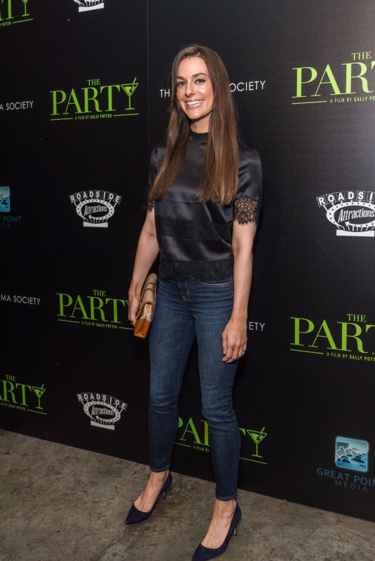 ARIANA ROCKEFELLER at The Party Screening in New York 02/12/2018