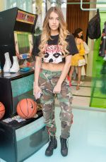 ARIANNA HICKS at Revolve x Nike 1s Reimagined Pop-up Event in Los Angeles 02/16/2018