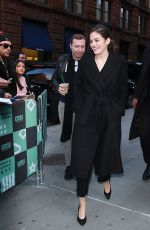 ARIEL MORTMAN Arrives at Build Series in New York 02/14/2018