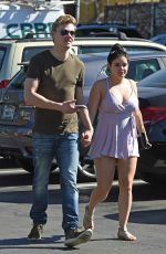 ARIEL WINTER and Levi Meaden Out in Los Angeles 02/16/2018
