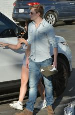 ARIEL WINTER and Levi Meaden Out in Studio City 02/06/2018