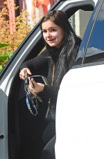 ARIEL WINTER Leaves a Salon in Beverly Hills 02/13/2018