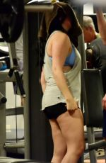 ARIEL WINTER Workout at a Gym in Los Angeles 02/08/2018