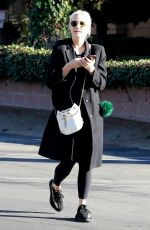ASHLEE SIMPSON Out and About in Studio City 02/04/2018