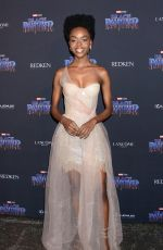 ASHLEIGH MURRAY at Black Panther Welcome to Wakanda NYFW Showcase in New York 02/12/2018