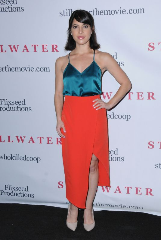 ASHLEY ARPEL GREENWALD at Stillwater Premiere in Los Angeles 02/12/2018