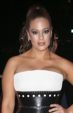 ASHLEY GRAHAM at Brandon Maxwell Fashion Show at NYFW in New York 02/11/2018