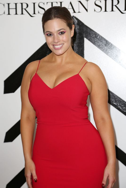 ASHLEY GRAHAM at Christian Siriano Fashion Show at NYFW in New York 02/10/2018